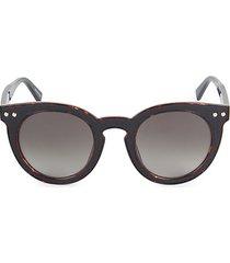 patti 49mm round sunglasses
