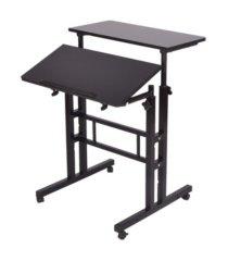 mind reader 2 tier sit and stand desk