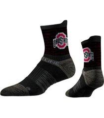 strideline ohio state buckeyes comfy sub mid calf socks