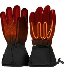 actionheat women's aa battery heated snow gloves