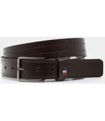 cinturón para hombre unifaz de cuero bison