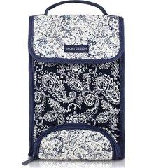 bolsa térmica tamanho g paisley jacki design mística azul marinho