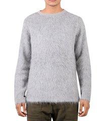 the inoue brothers grey suri sweater