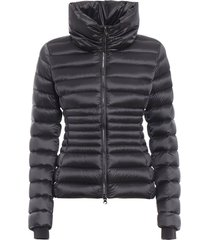 place funnel neck puffer jacket