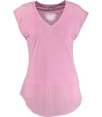 garcia soepel lilac chiffon shirt modal polyester