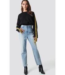 cheap monday donna trash metal jeans - blue