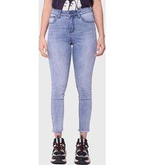 jeans ellus azul - calce ajustado