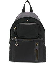 anya hindmarch multi pocket backpack - black