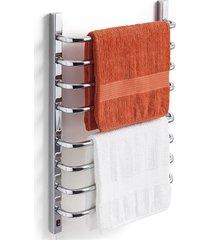 toalheiro térmico 110v para 2 toalhas fio lado esquerdo cromado
