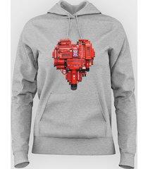 bluza london heart