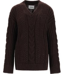 nanushka arwan oversize sweater