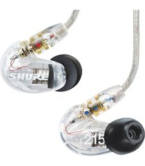 audifonos in ear shure se215cl transparente
