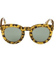 avana 47mm leopard-print pantos sunglasses