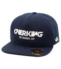 boné overking aba reta snapback the original cap azul