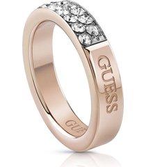 anillo guess embrance/ubr78021-56 - oro rosa