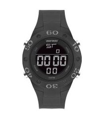 relógio digital mormaii masculino - mo902aa8c preto