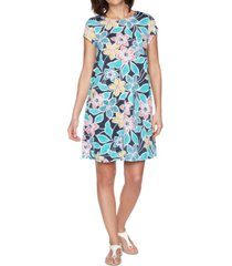 ruby rd. petite summer floral dress