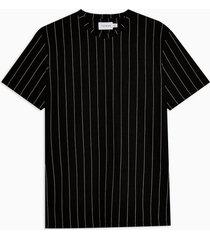 mens black and white stripe t-shirt