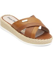 priceshoes sandalia casual mujer 232688miel