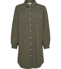 iluna shirt dress dresses shirt dresses groen minus