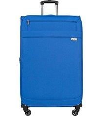 """maleta de viaje mediana naples 25"""" azul - explora"""
