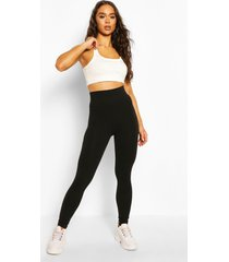 basic supersoft jersey legging, black