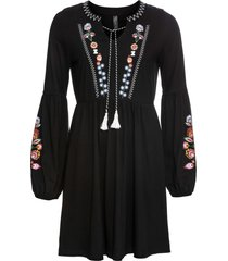 abito in maglina (nero) - rainbow