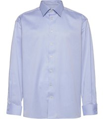 classic fit business signature twill shirt overhemd business blauw eton