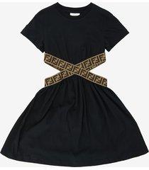 cut-out ff dress