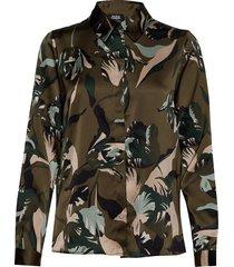 boozt penelope shirt blouse lange mouwen groen twist & tango