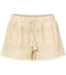 shorts in pizzo (beige) - bodyflirt
