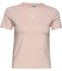 classics tight top t-shirts & tops short-sleeved rosa puma