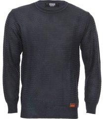 sweater azul redskin zig zag