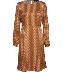 sikka dress knälång klänning gul soft rebels