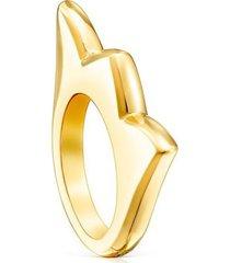 anillo de tulipán dorado vermeil sweet dolls 012785531