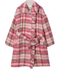 monnalisa check coat