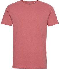 jjelinen basic tee ss crew neck sts t-shirts short-sleeved rosa jack & j s