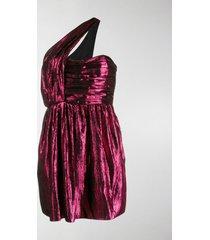 saint laurent disco lamé mini dress