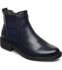 woms boots känga stövel blå tamaris
