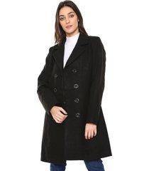 casaco sobretudo facinelli by mooncity botões preto