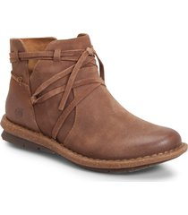 women's b?rn tarkiln bootie, size 10 m - brown