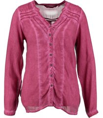 garcia washed fuchsia blouse