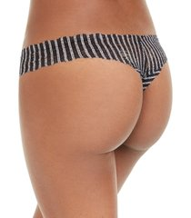 cosabella women's pixie printed lowrider lace thong pixip0321