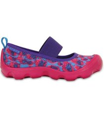 sapatilha crocs infantil duet busy day leopard