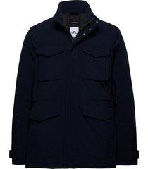 tracer tech jacket gevoerd jack blauw j. lindeberg