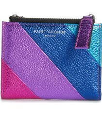 kurt geiger london rainbow shop stripe leather wallet in open miscellaneous at nordstrom