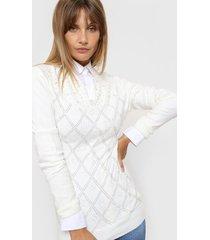 sweater blanco laila angeline