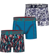 gaubert 3 pak heren boxershorts set 6-l