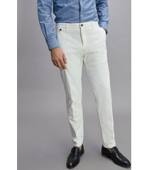 tommy hilfiger men's slim fit stretch trouser white - 44