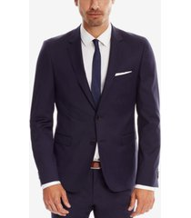 boss men's extra-slim-fit super 120 italian virgin wool sport coat